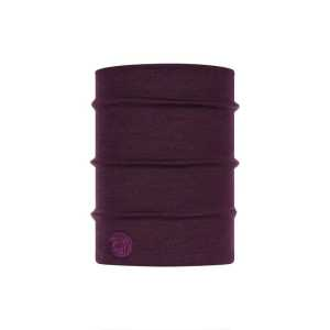 Buff Heavyweight Merino Wool Tubular - Purplish Multi Stripes