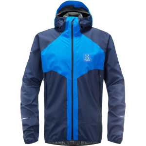 Haglofs Mens L.I.M Proof Multi Waterproof Jacket - Storm Blue/Tarn Blue