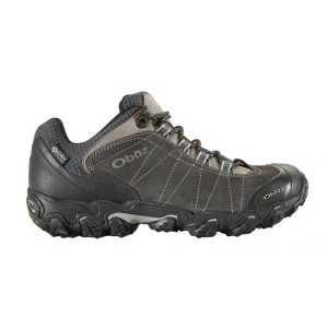 Oboz Bridger Low B-DRY Waterproof Walking Shoe - Dark Shadow