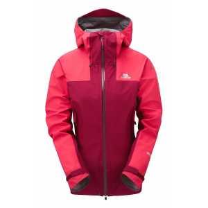 Mountain Equipment Quarrel Womens GTX Waterproof Jacket - Cranberry/Virtual Pink