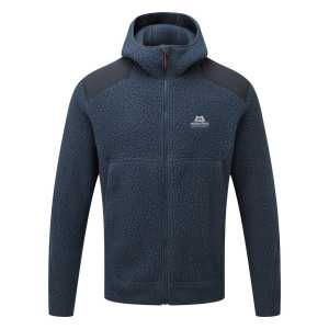 Mountain Equipment Moreno Hooded Fleece Jacket - Denim Blue