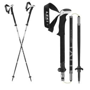Leki Micro Vario Carbon Strong Folding Trekking Poles - One Pair