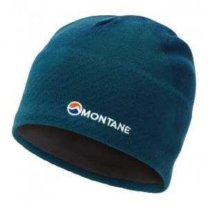 Montane Logo Beanie Hat - Narwhal Blue - One Size