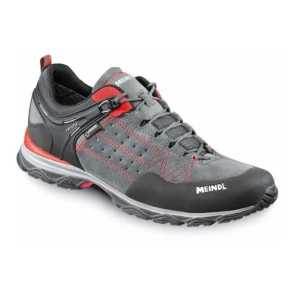 Meindl Ontario GTX Walking Shoes - Red/Anthracite - size 10 - Ex-Demo