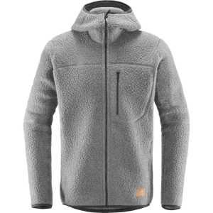 Haglofs Pile Hood Fleece Jacket - Grey Melange