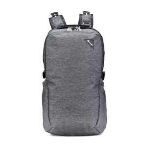 Pacsafe Vibe 25L Anti-Theft Backpack - Granite Melange Grey