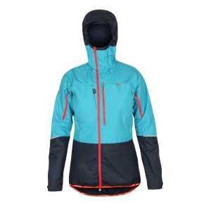 Paramo Womens Ventura Windproof Jacket - Neon Blue/Midnight - XL