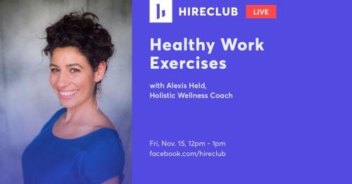 Healthy Work Exercises