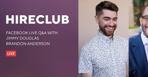 HireClub Live With Jimmy Douglas & Brandon Anderson
