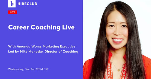 Live Career Coaching