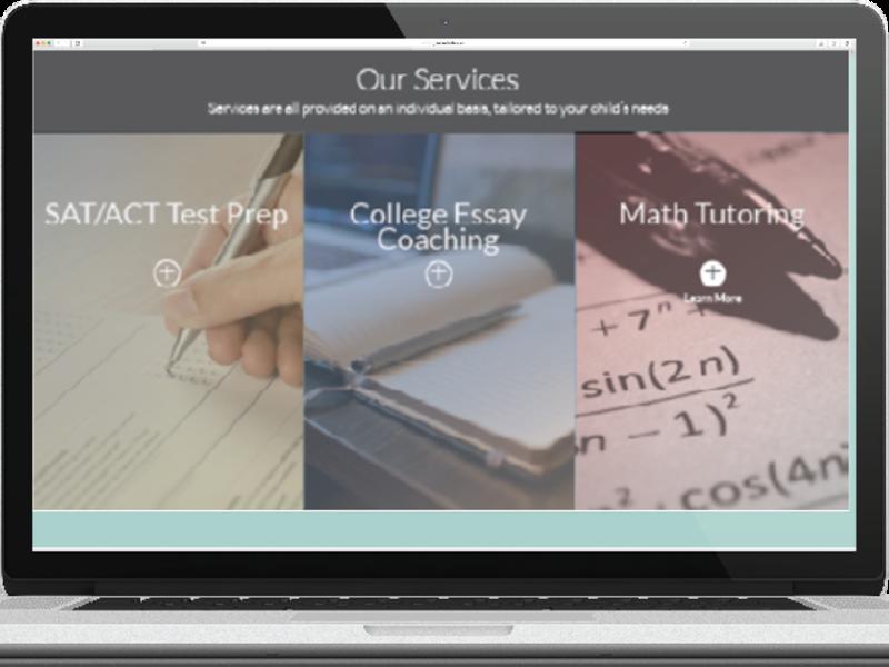 KR Tutor Website Redesign