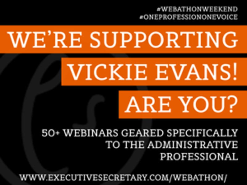 Executive Secretary #OneProfessionOneVoice #WebathonWeekend