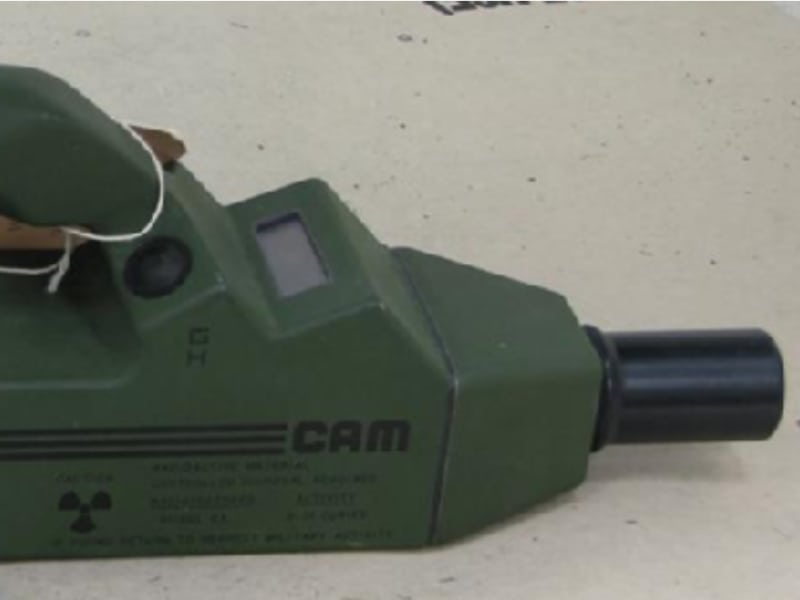 US Army Chemical Agent Monitor (ICAM)