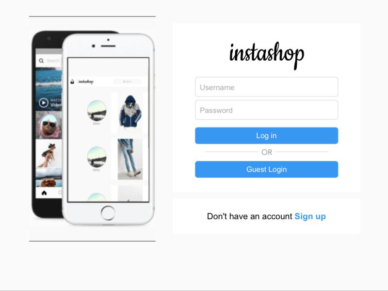Insta-shop