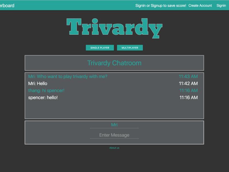 Trivardy