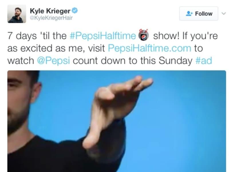 Pepsi Super Bowl Half Time Show with Kyle Krieger