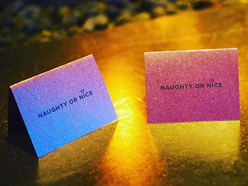 Naughty or Nice Cards