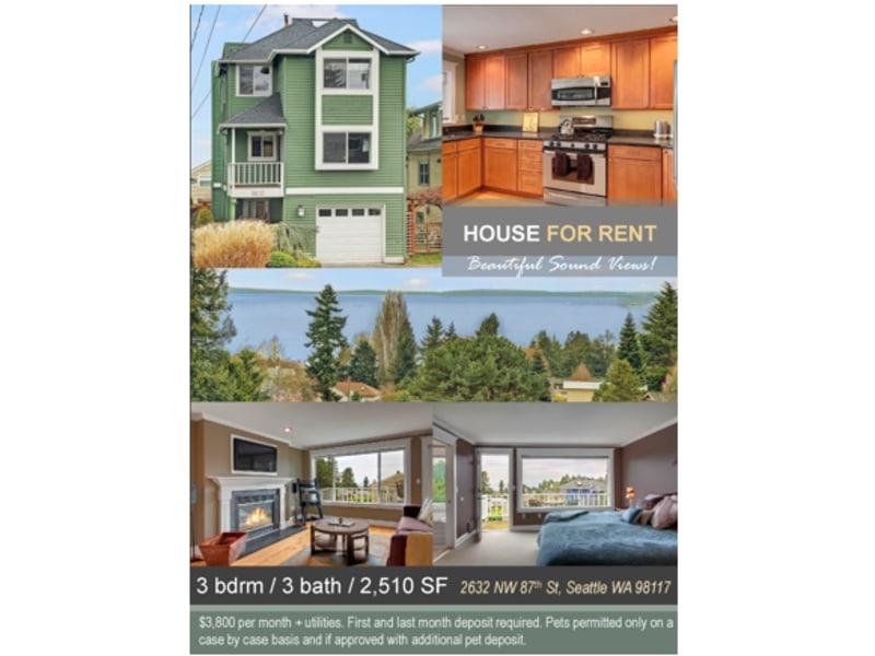 Property Rental Flyer / Brochure