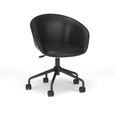 Contemporary Barrel Office Chair