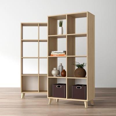 Bookcase 8-Cube Organizer
