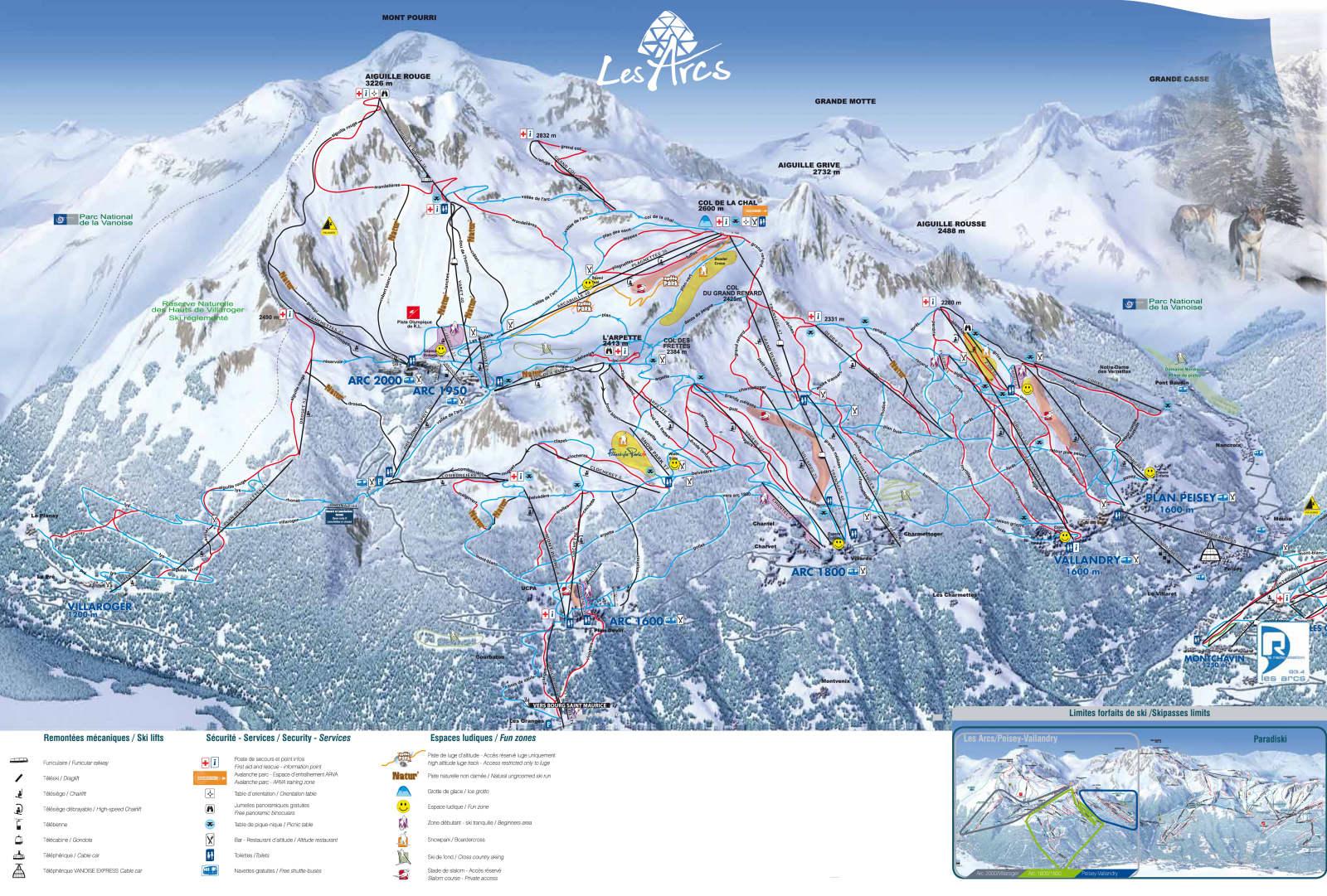 Les Arcs ski holiday catered chalet Les Arcs Les Arcs ski