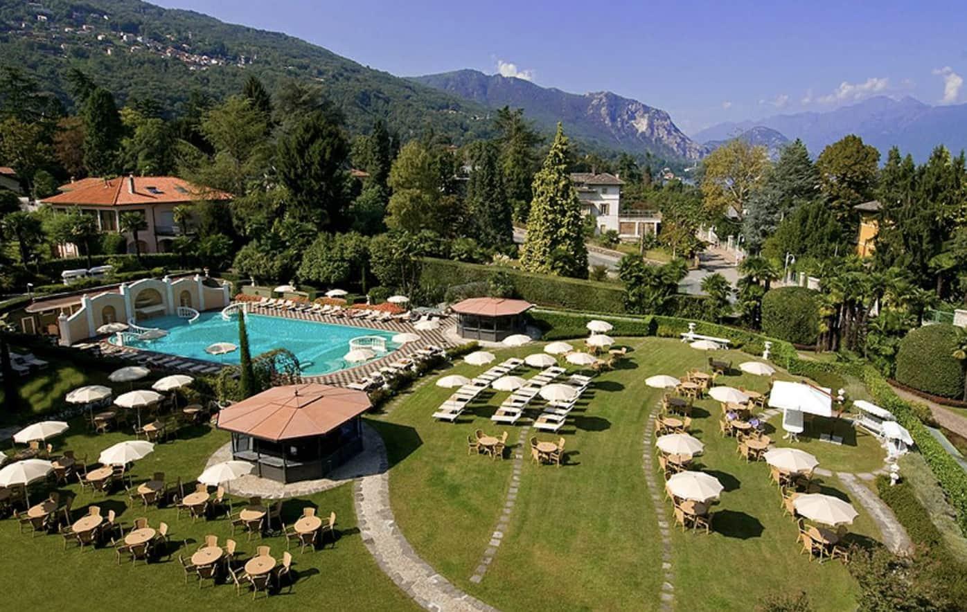 Grand hotel stresa lake maggiore holidays for Stresa lake maggiore