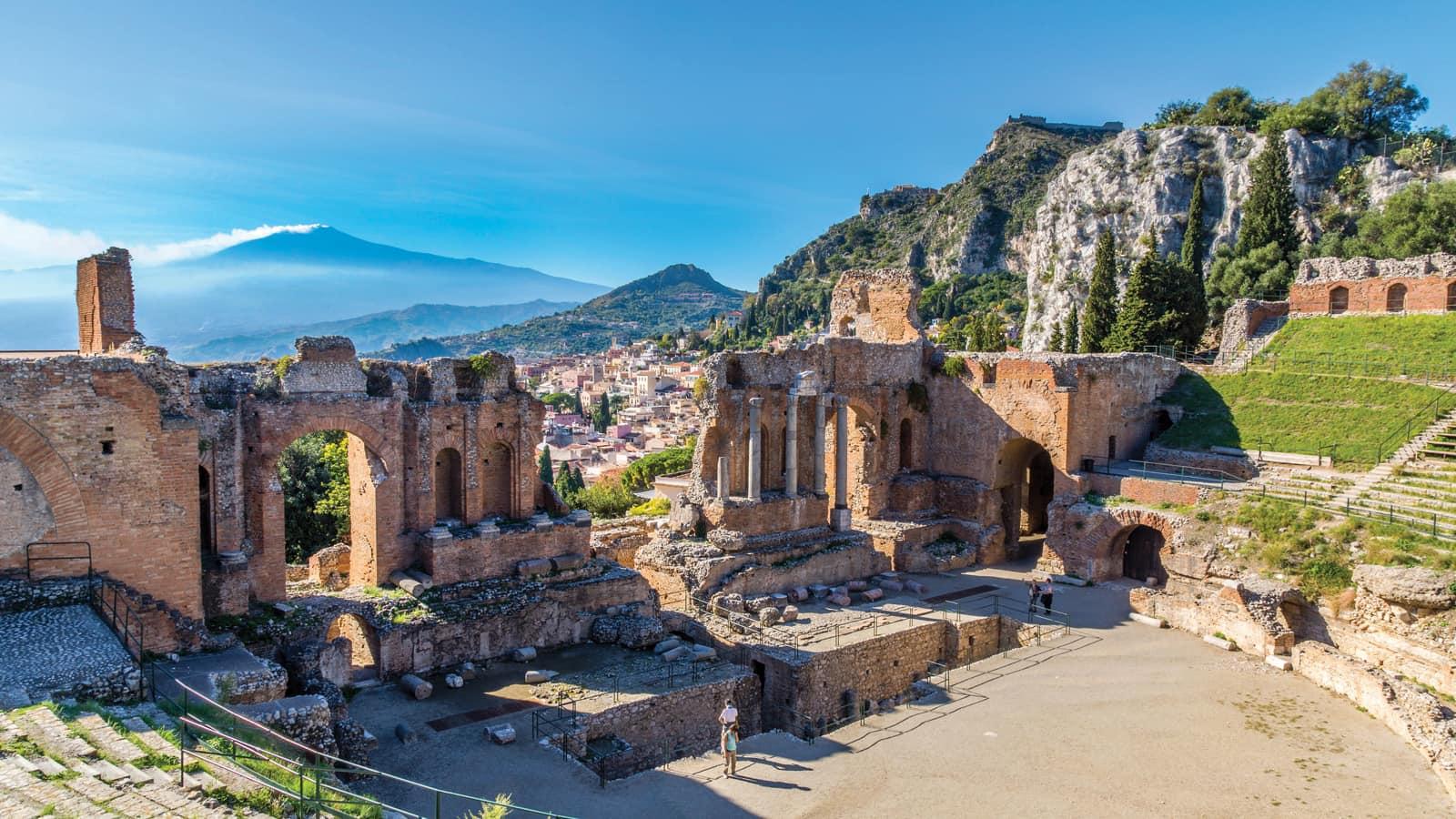Sicily mount etna syracuse catania tour topflight - Hotel ai giardini naxos ...