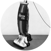 An image of the Junior, a small modern and extremely efficient home cleaning companion
