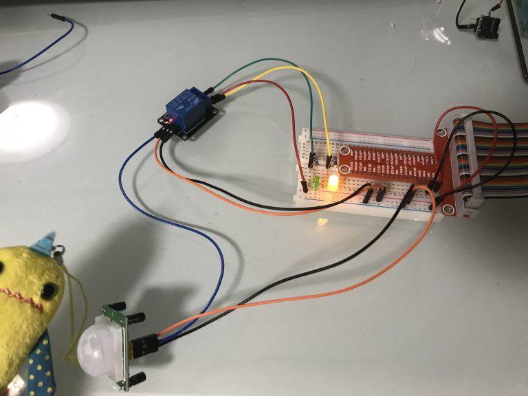リレー(SRD-05VDC-SL-C)をスイッチとして使ってみよう