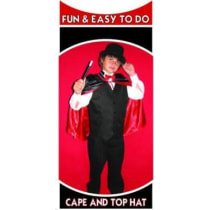 Magician Cape with Top Hat