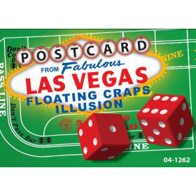 Floating Craps Postcard