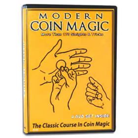 Modern Coin Magic DVD set