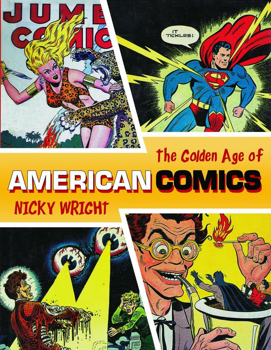 Book-The Classic Era of American Comics