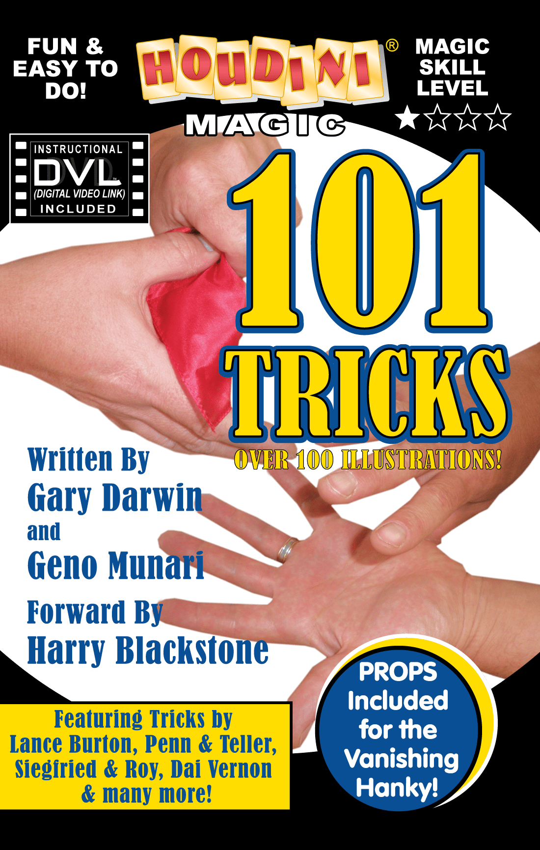 101 Tricks with Thumb Tip and Vanishing Hanky
