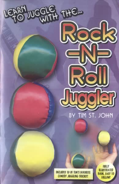 Rock and Roll Juggler Set with book