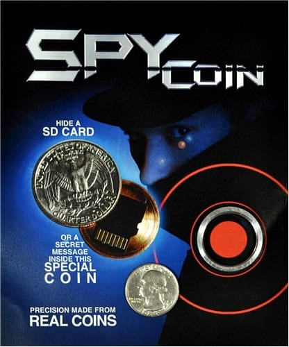 Spy Coin- Quarter