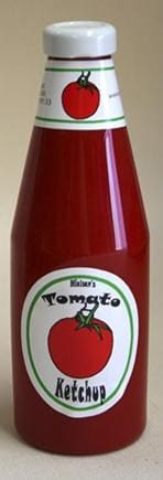 Vanishing Tomato Ketchup Bottle-Full