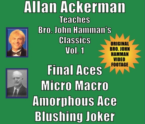 DVD-Ackerman Teaches Hamman Vol. 1