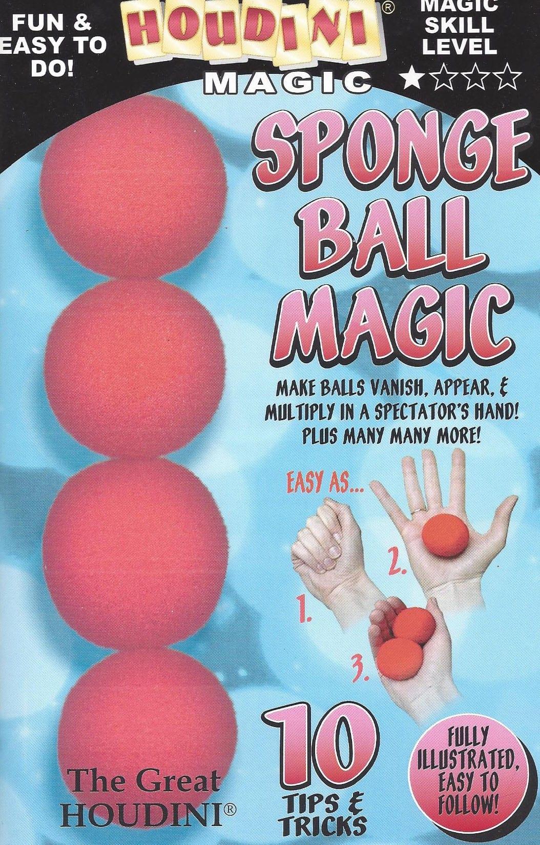 Book-Sponge Ball Magic