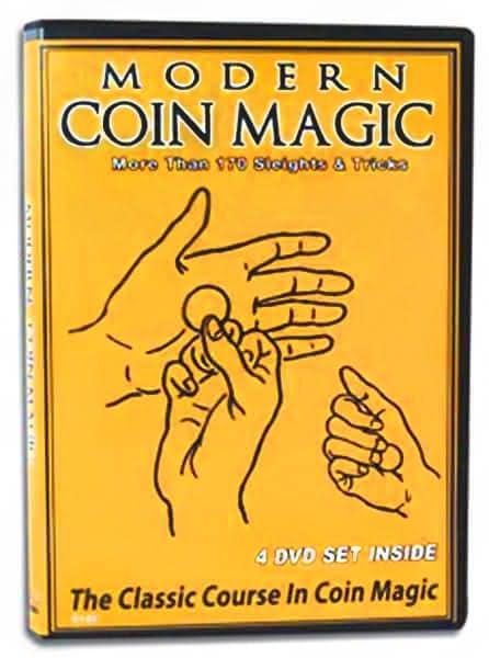 Modern Coin Magic DVD set