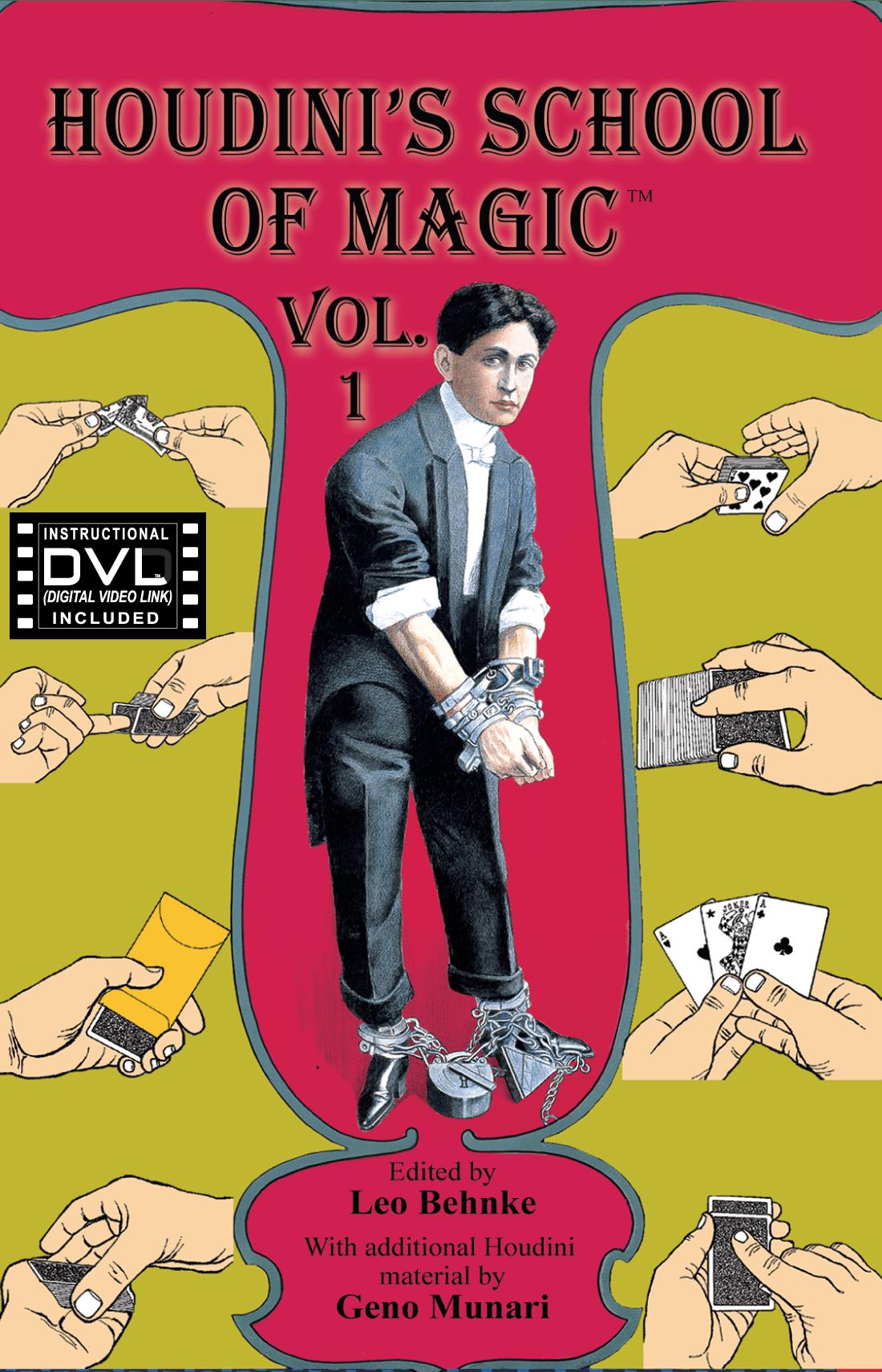 Houdini's School of Magic Teaching DVL