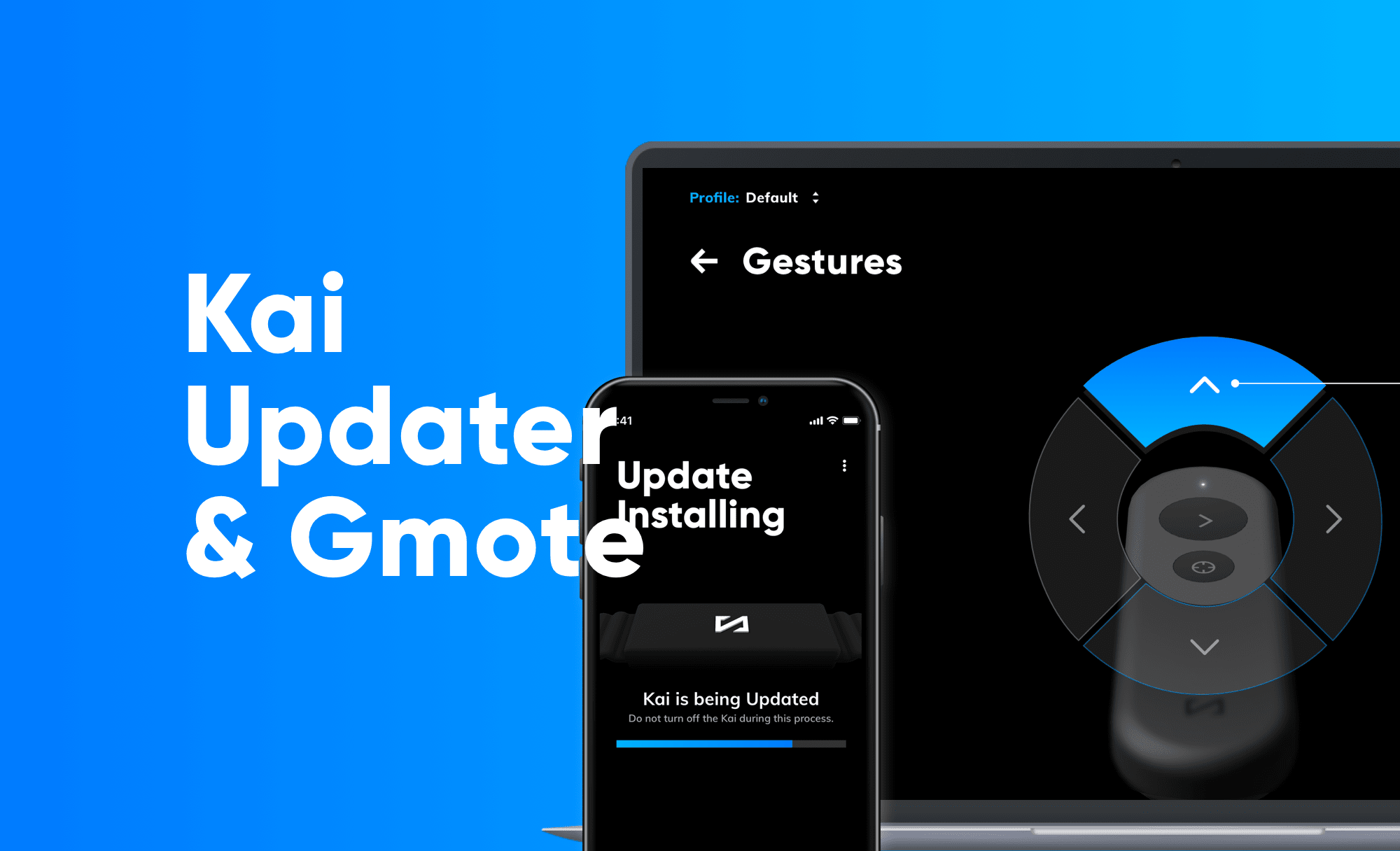 Kai Updater & GMote Control Center