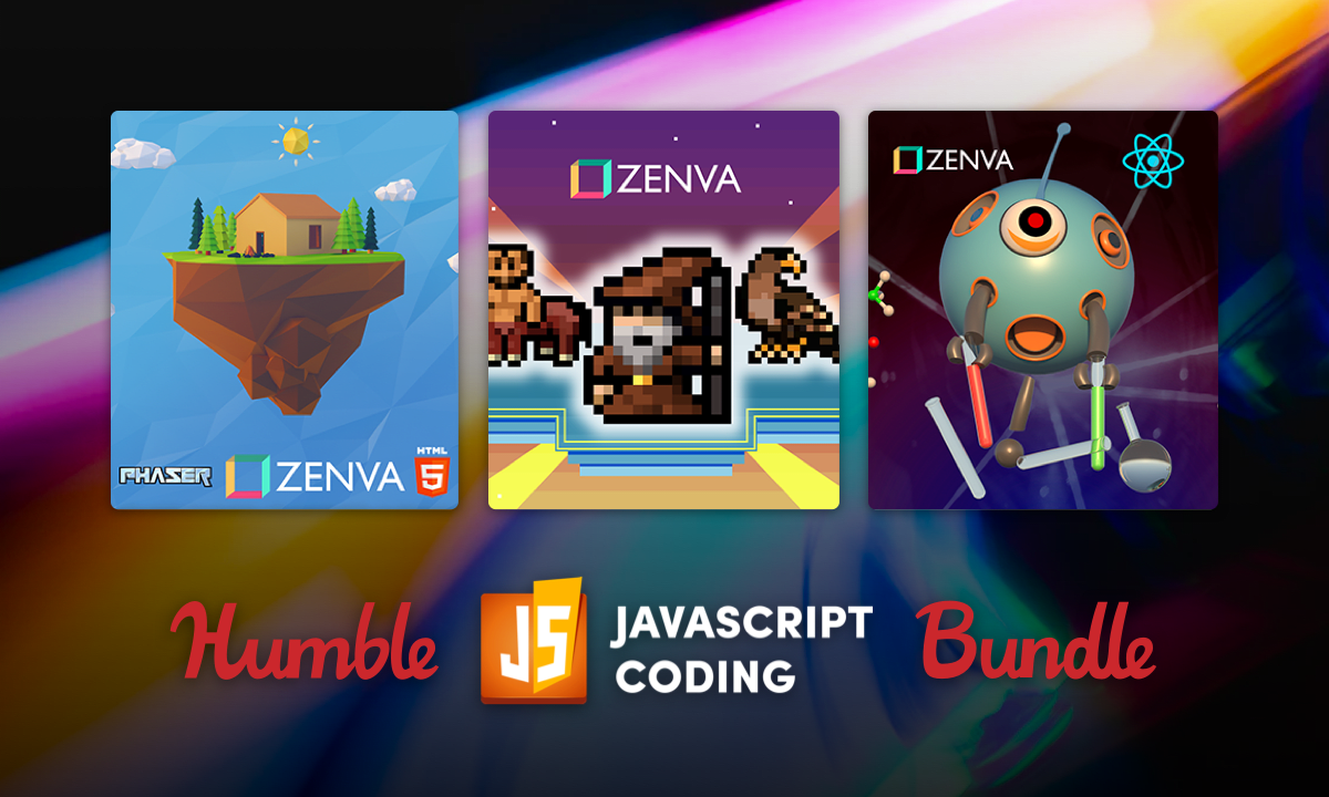 Support charity and learn to code with the Humble JavaScript Coding Bundle!