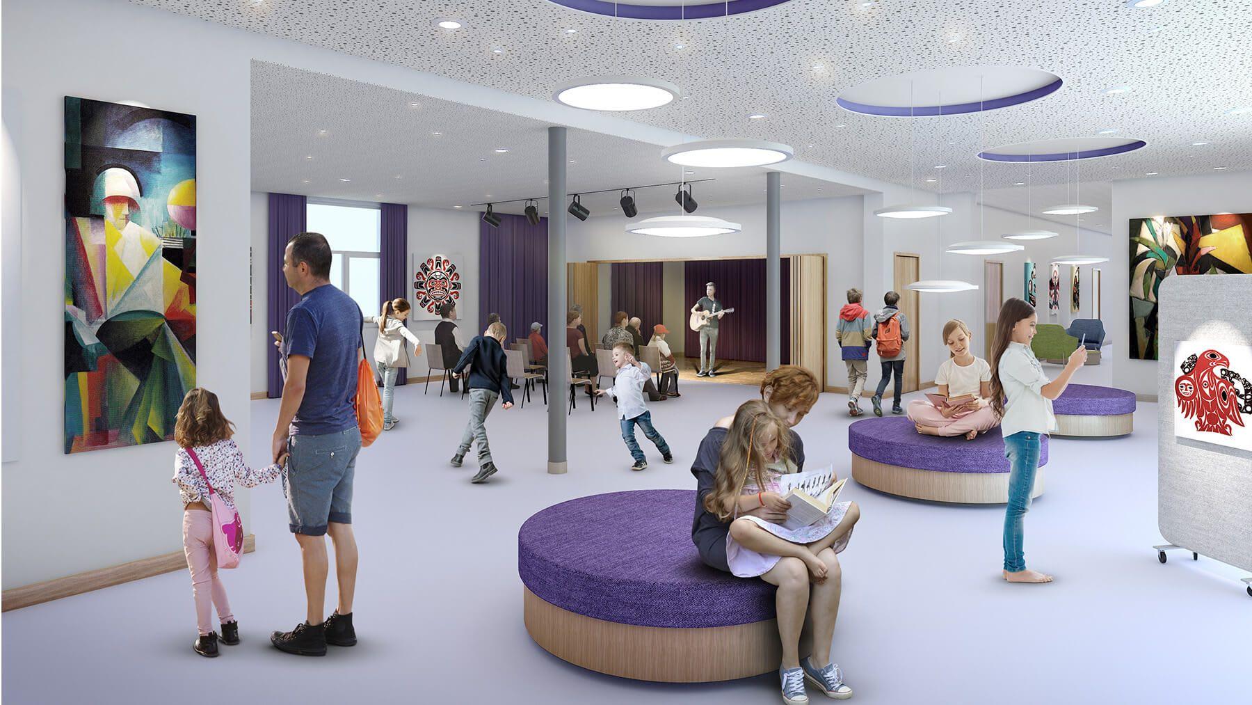 Design strategy for the new Progressive school headquarters | 2019, Sofia, Bulgaria