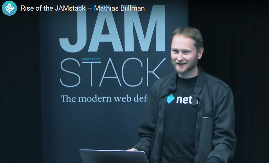 Why should you use the JAMStack ?