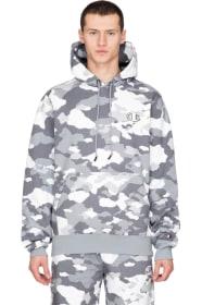 f0cd29b365d6 Champion - Super Hood 2.0 Printed Pullover Hoodie - Camo Pop White