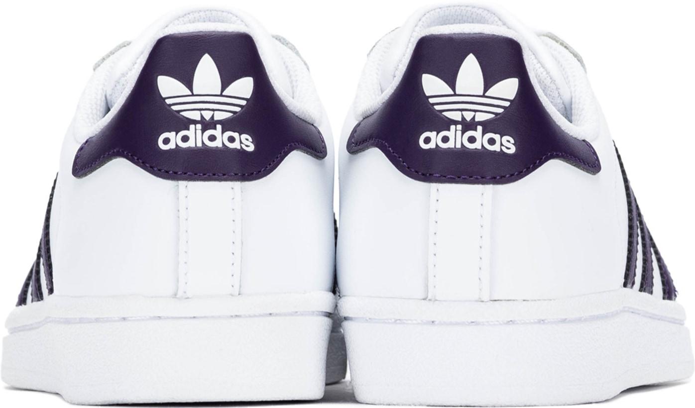OriginalsSuperstar Whitelegend Adidas Purplecore Footwear 3Kl1JTFc