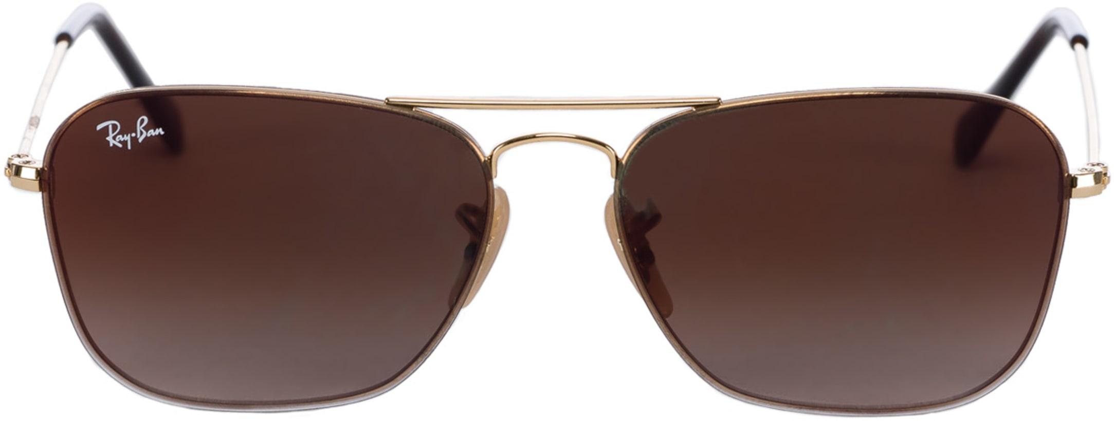 99d9e994d Ray-Ban. Square Gradient Mirror Sunglasses - Gold/Brown Gradient Mirror