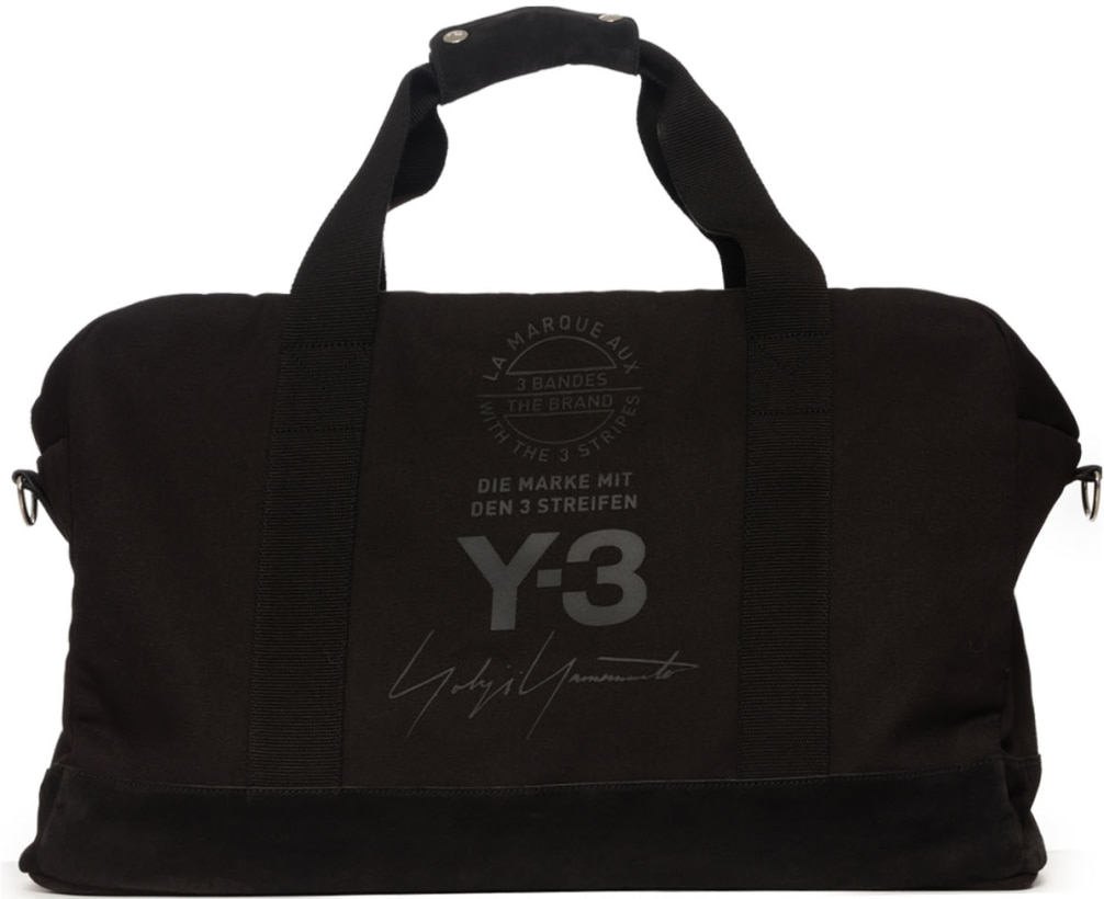 5ea20652f07 Y-3  Weekender Bag - Black   Influence U