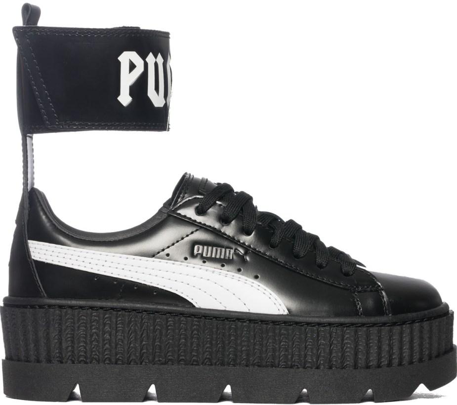 save off 5269f 7bc27 Puma - Fenty Ankle Strap Creeper - Black